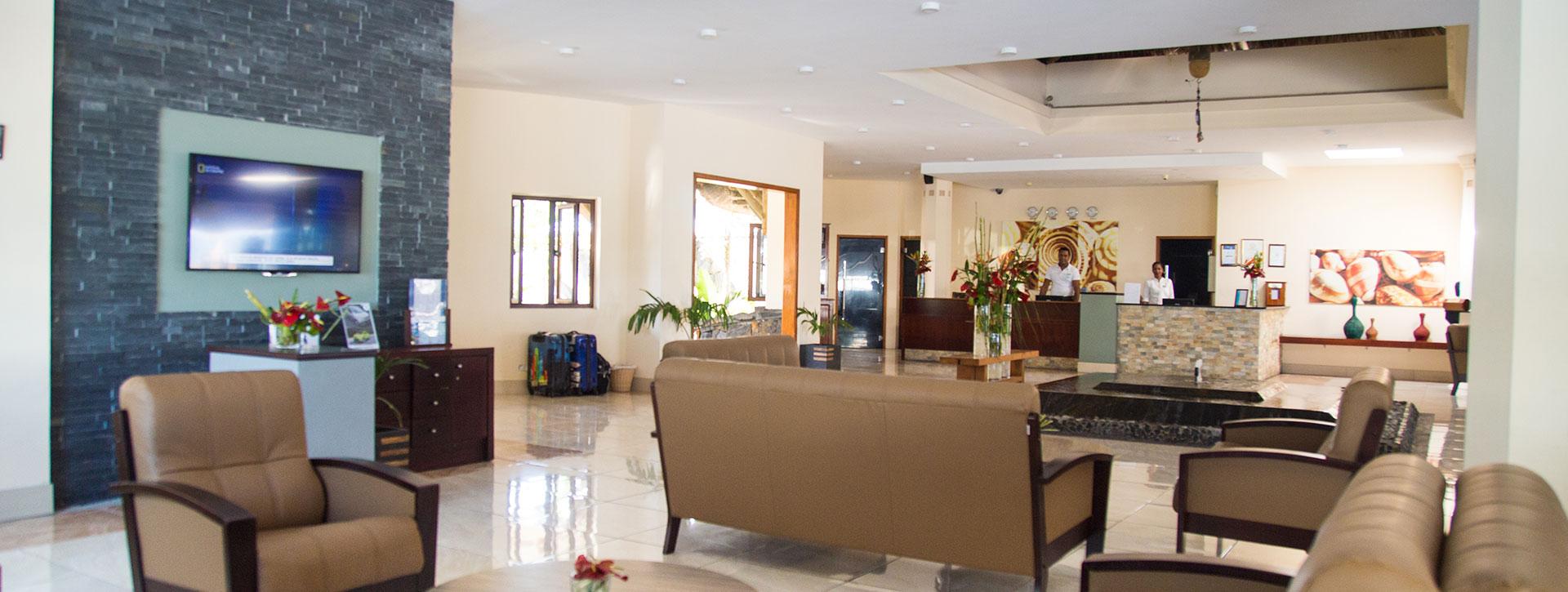 Pearle Beach Resort & Spa Lobby Mauritius