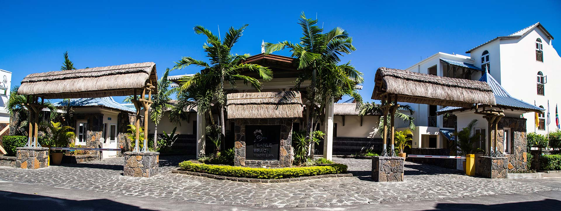 Pearle Beach Resort & Spa Entrance Mauritius